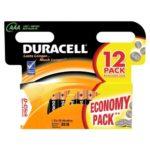 Батарейка DURACELL Alkaline LR3 (ААА 1,5 В упак 12шт тип щелочная)
