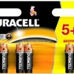 Батарейка DURACELL Alkaline, LR6 (АА, 1.5 В, упак. 6шт., тип: щелочная) BL5+1
