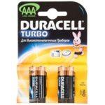 Батарейка DURACELL TURBO, LR3 (АAА, 1.5 В, упак. 4шт., тип: щелочная)
