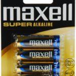 Батарейка Maxell Super LR3 (AAА 1,5 В упак 40шт тип щелочная)