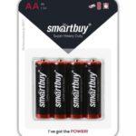 Батарейка Smartbuy R3 (AАA, 1.5 В, упак. 60шт., тип: щелочная)