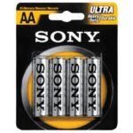 Батарейка Sony Ultra LR6 (АA, 1.5 В, упак. 48шт., тип: щелочная)