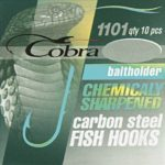 Крючки Cobra Baitholder № 6 (1101-10шт) 1связка 10упак