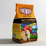 Щепа для копчения яблоневая 200 гр ( упак. 24 шт.) 110502