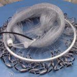 Сеть кастинговая (американка леска с кольцом D 4-0м ячейка 16мм)