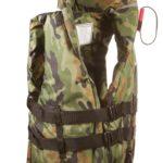 Спасательный жилет  М4, взрослый с воротником, цвет жилета камуфляжный, 4XL ( до 160 кг)