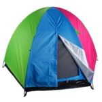 Палатка 4-местная, 2сл., 230х230х135см, нейлон 170T, дно оксфорд 210D, gl