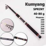 Удилище Kumyang, ручка неопрен (2,4m/40-80)