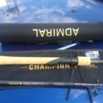 Удилище Admiral Champion в тубусе, ручка пробка (2,7m/5-25, carbon)