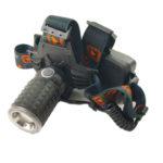 Фонарь налобный аккумуляторный HL-W609 (АКБ 18650/ 5200mAh/zoom/ЗУ+прикуриватель)
